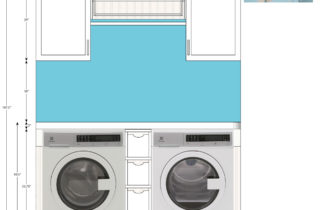 Interior Illustration-Laundry Room