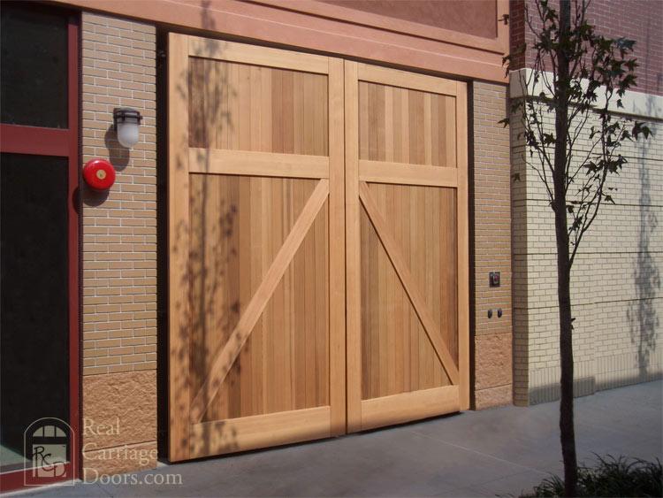 Garden Bench Carriage Doors